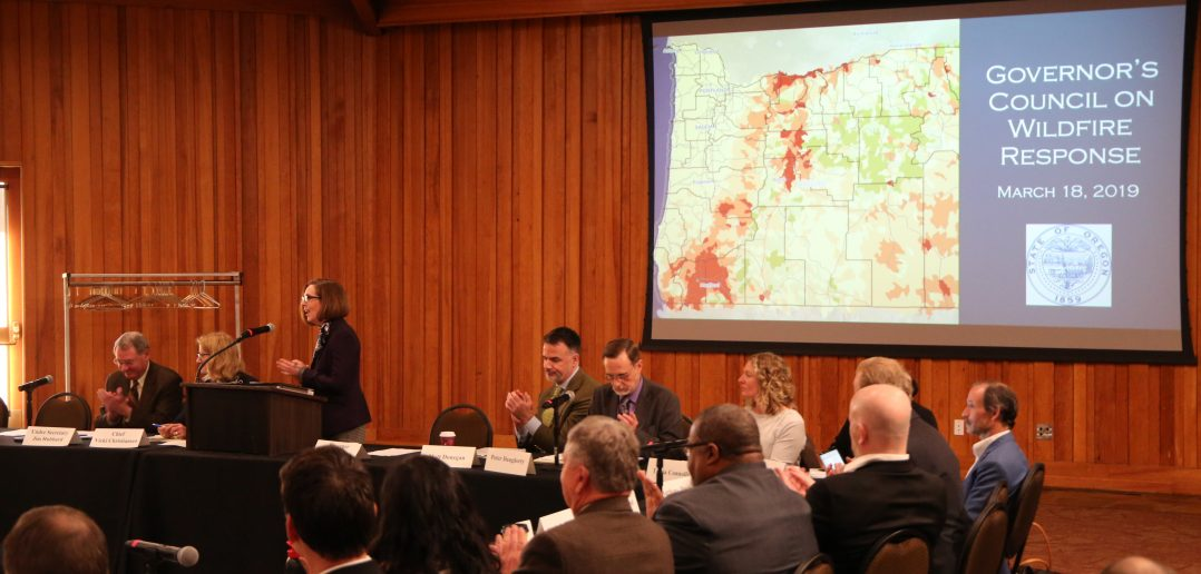 Governor Speaks at Wildfire Conference