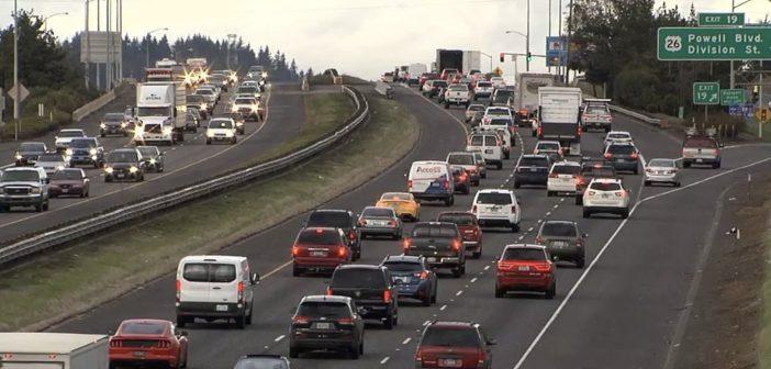 traffic in Oregon