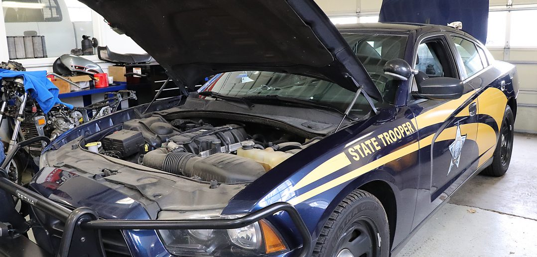 Oregon State Police decommissioned car by OYA
