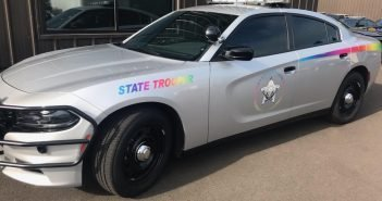 Oregon State Police Pride Car