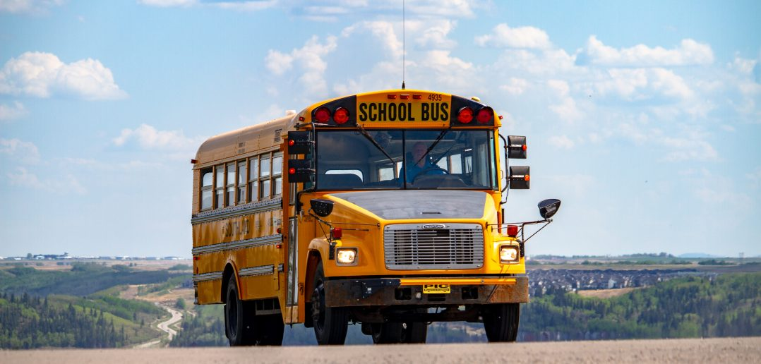 Yellow School Buses Go Green Oregon DEQ