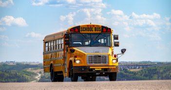 Yellow School Buses Go Green Oregon DEQ