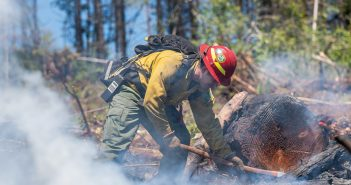 Profiles in Courage: Levi Hopkins, Fresh Off the Milepost 97 Fire