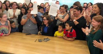 Governor Brown Signs Paid Family Leave