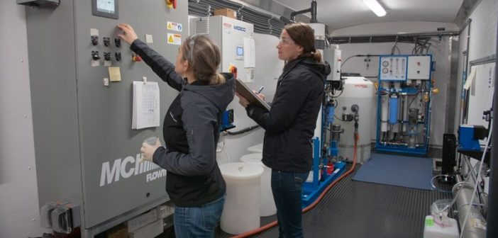 turning water into Oregon beer