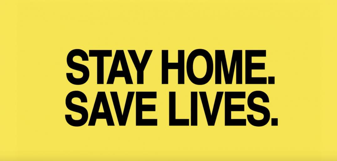 Wieden Kennedy Stay Home Save Lives