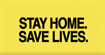 Wieden Kennedy Stay Home Save Lives
