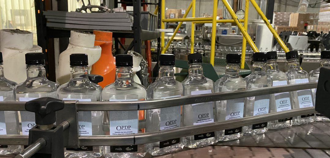 Oregon Spirit Distillers Hand Sanitizer