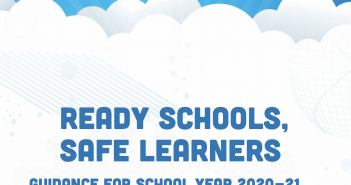 Ready schools safe learners over clouds