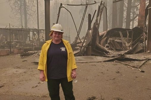 In Wildfire Crisis, Heroes Shine