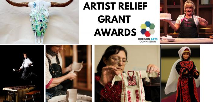 Oregon Arts Commission's Artist Relief Program Awards Announced