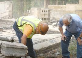 Debris Cleanup Crews Help Unearth Time Capsule
